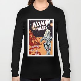 WOMAN IN MARS Long Sleeve T-shirt
