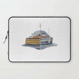 Ferries - nyc vs istanbul Laptop Sleeve