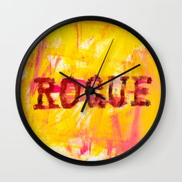 going rogue Wall Clock
