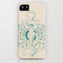 Anchor mandala iPhone Case