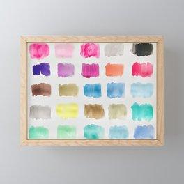 City Windows Framed Mini Art Print