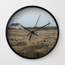 (RR 301) O'Sheas - Abandoned pub on Valentia Island in County Kerry, Ireland Wall Clock