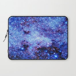 GAlaxy Periwinkle Stars Laptop Sleeve