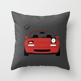 Miata ;) Throw Pillow