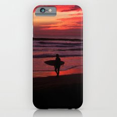 California Beach Sunset iPhone 6 Slim Case