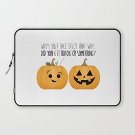 Pumpkin Botox Laptop Sleeve
