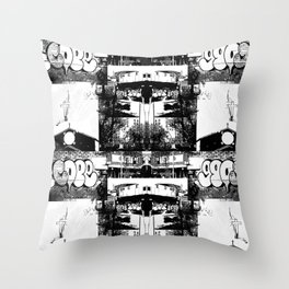 CrossBronx  Throw Pillow