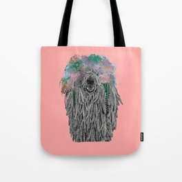 Dredlock Dog (Pastel Pink Edition) Tote Bag