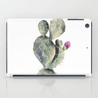 cactus iPad Cases featuring CACTUS by Annet Weelink Design