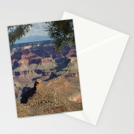 Battleship Rock, Grand Canyon NP, AZ -- Just after sunrise Stationery Cards
