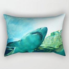 Life is not a ponyfarm Rectangular Pillow