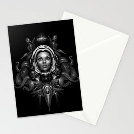 Space Horror 3000 Stationery Cards