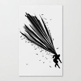 A Dark Knight Canvas Print