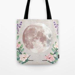 Vanilla Floral D. Tote Bag