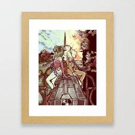 Look towards the Horizon Framed Art Print