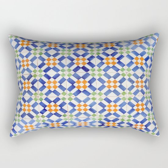 Azulejos Rectangular Pillow
