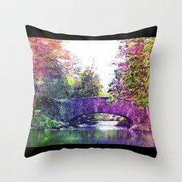 Rainbow Bridge Throw Pillow