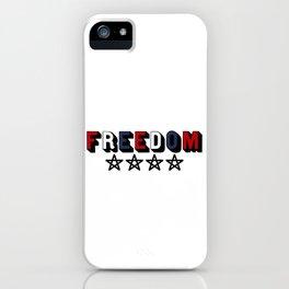 Independance USA iPhone Case