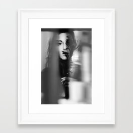 The devil you know is better than the one you don't Framed Art Print