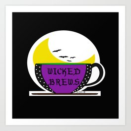 Wicked Brews Art Print