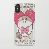 fat iPhone & iPod Cases featuring Fat Fat Valentine by Fat Fat