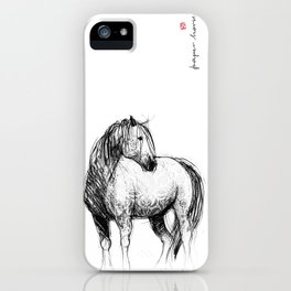 Horse (Mustang) iPhone Case