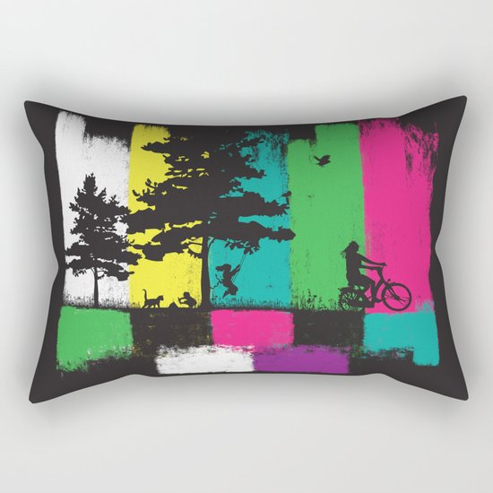 reality life Rectangular Pillow