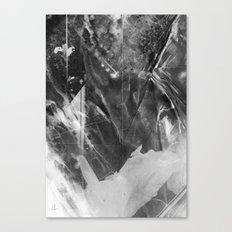 Black Crystal Canvas Print