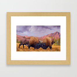Stand Your Ground Framed Art Print