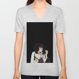 Mia Wallace takes adrenaline after her overdose Unisex V-Neck