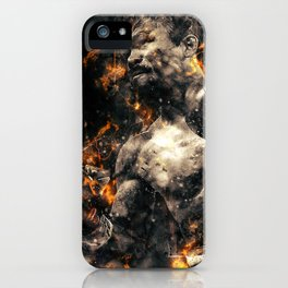 Manny Pacquaio FURY iPhone Case