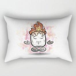 Mellow Mallow - Meditation Marshmallow Rectangular Pillow