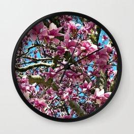Tulip Tree Wall Clock