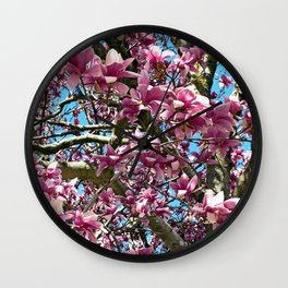 Tulip Tree Wall Clock