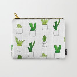Friendly family of succulents Carry-All Pouch