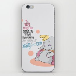 Lift You Up iPhone Skin