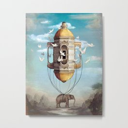 Imaginary Traveler Metal Print