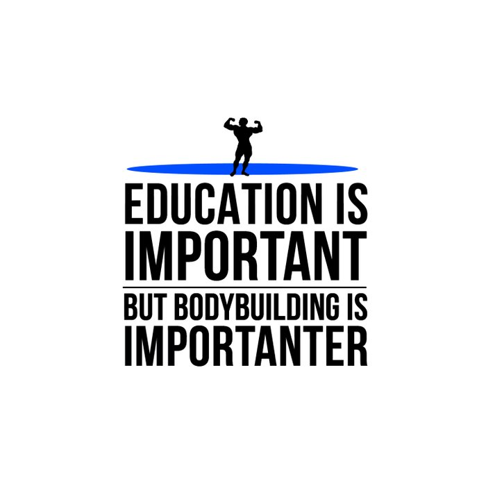 Bodybuilding fitness gym gift idea Duvet Cover