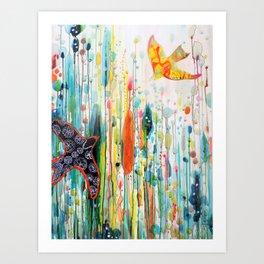 where ever you are Art Print