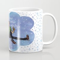 the fault in our stars Mugs featuring The Fault in Our Stars by Sarah Hopkins