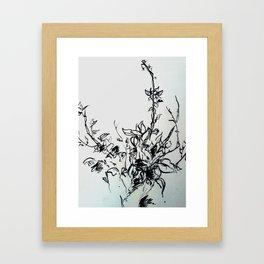 Lonely Bud Framed Art Print
