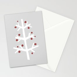 Abstract Winter Branch 2 Stationery Cards