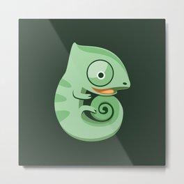 Baby chameleons Metal Print