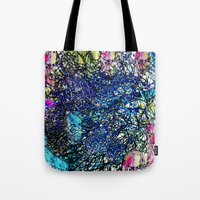 the 100 Tote Bags featuring Abstract 100 by  Agostino Lo Coco