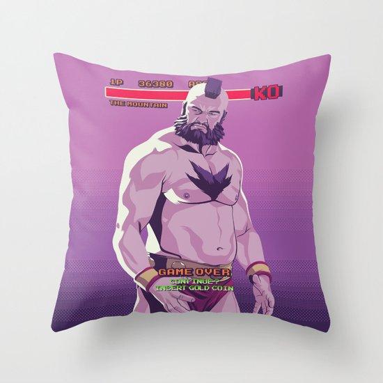 80/90s  - Mntn Throw Pillow