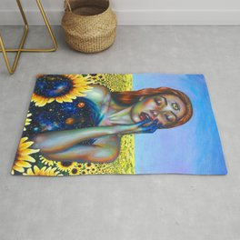 Outer and inner suns Rug