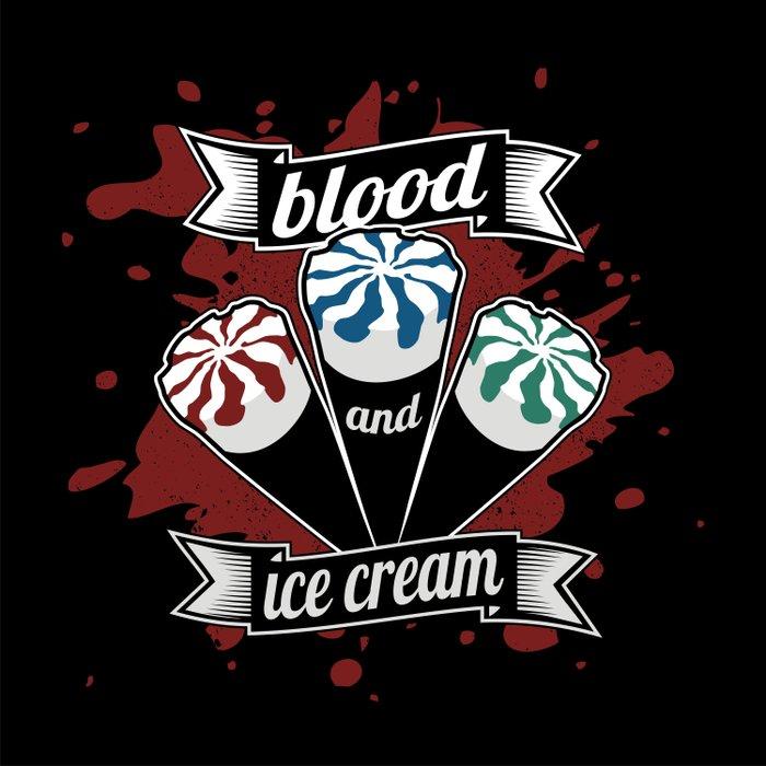 Blood & Ice Cream Duvet Cover