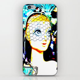Glamour Girl iPhone Skin