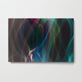 Hearts Joined Metal Print