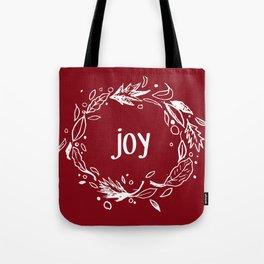 Joy in white Tote Bag